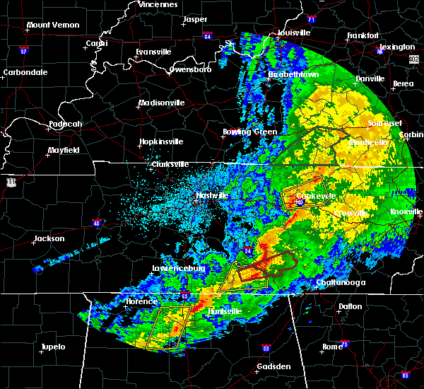 Interactive Hail Maps   Hail Map for Cookeville, TN