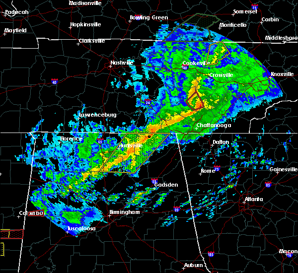 Radar Image for Severe Thunderstorms near Hytop, AL at 11/6/2018 2:16 AM CST