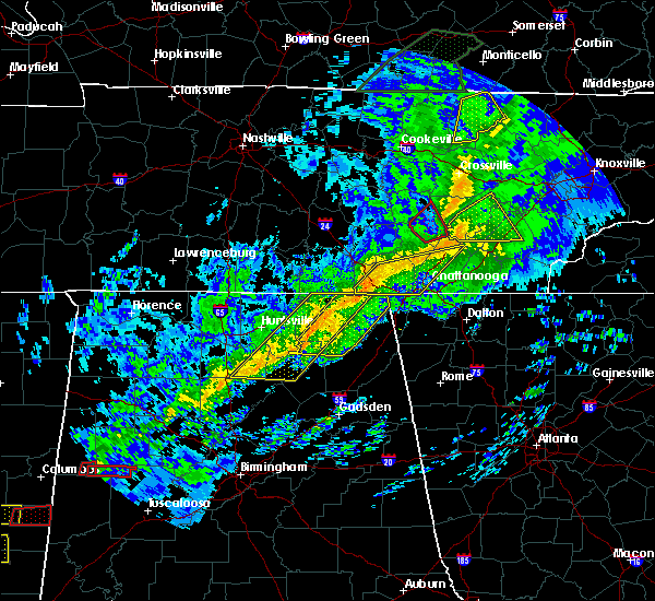 Radar Image for Severe Thunderstorms near Hytop, AL at 11/6/2018 2:31 AM CST