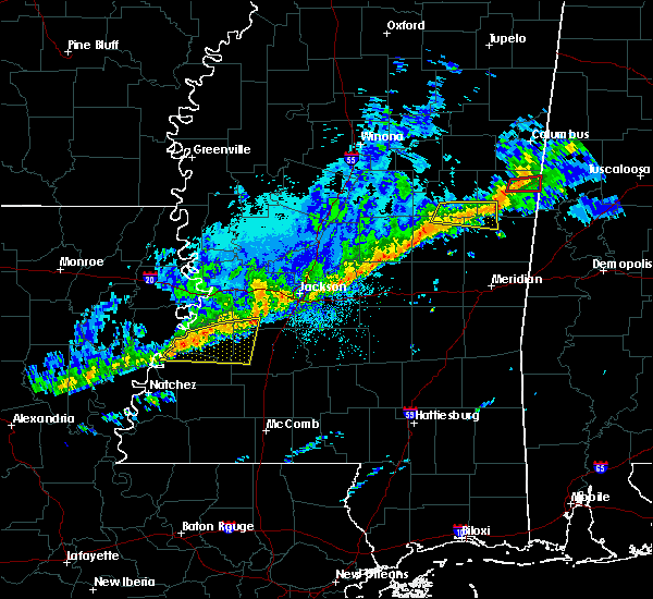 Radar Image for Severe Thunderstorms near Utica, MS at 11/6/2018 2:41 AM CST
