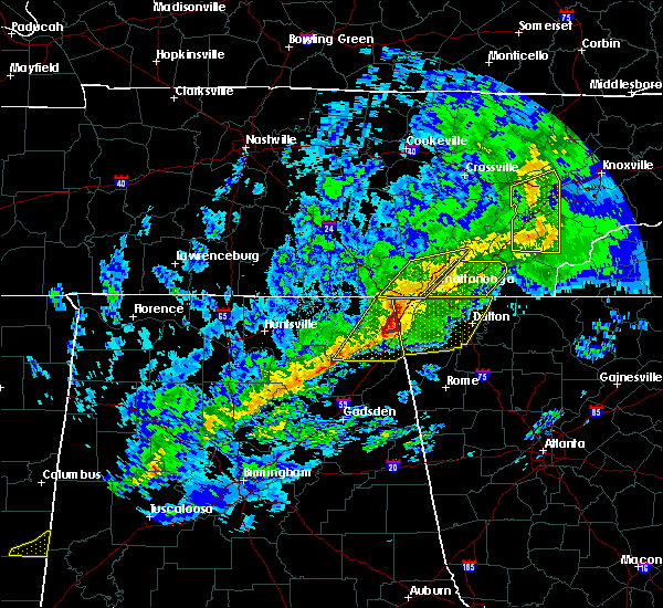 Radar Image for Severe Thunderstorms near Ider, AL at 11/6/2018 3:10 AM CST