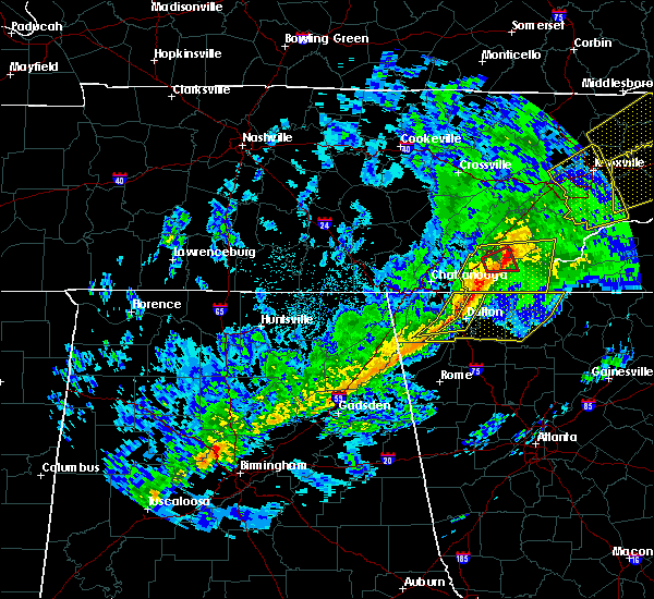 Radar Image for Severe Thunderstorms near Eton, GA at 11/6/2018 4:56 AM EST