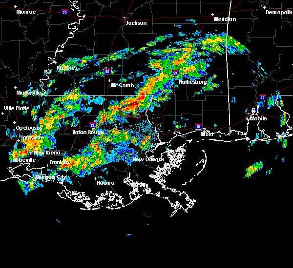 Radar Image for Severe Thunderstorms near Independence, LA at 11/7/2018 12:44 PM CST