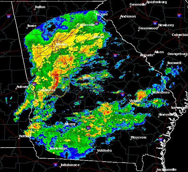 Radar Image for Severe Thunderstorms near Butler, GA at 11/7/2018 4:54 PM EST