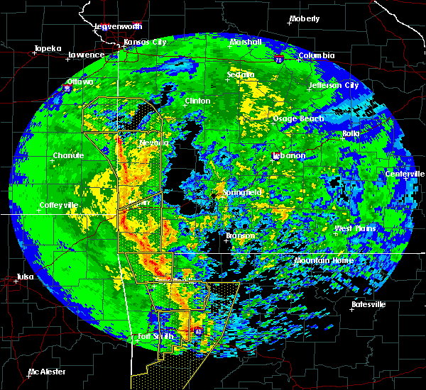 Radar Image for Severe Thunderstorms near Alpena, AR at 11/30/2018 11:55 PM CST