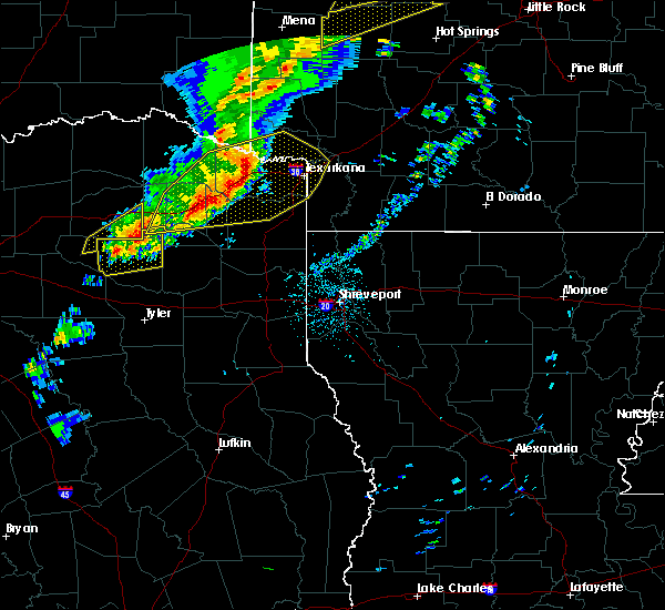 Radar Image for Severe Thunderstorms near Wilton, AR at 12/1/2018 12:30 AM CST