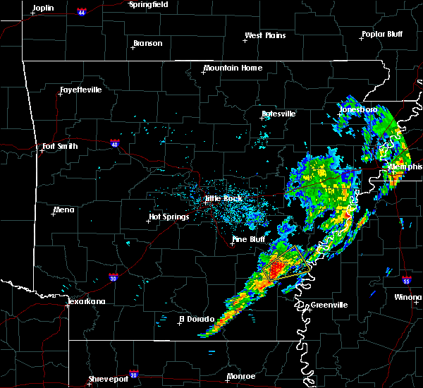 Radar Image for Severe Thunderstorms near Watson, AR at 12/1/2018 6:20 AM CST