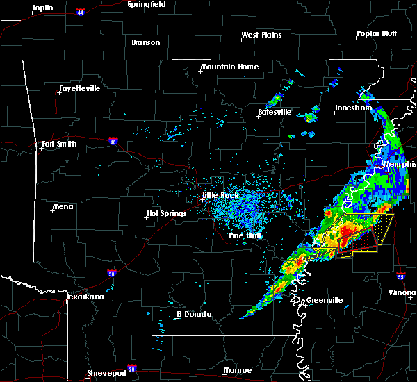 Radar Image for Severe Thunderstorms near Alligator, MS at 12/1/2018 7:29 AM CST