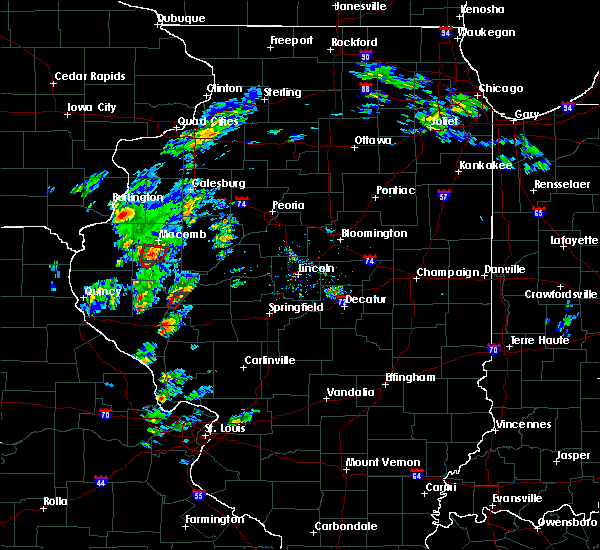 Radar Image for Severe Thunderstorms near Colchester, IL at 12/1/2018 3:17 PM CST