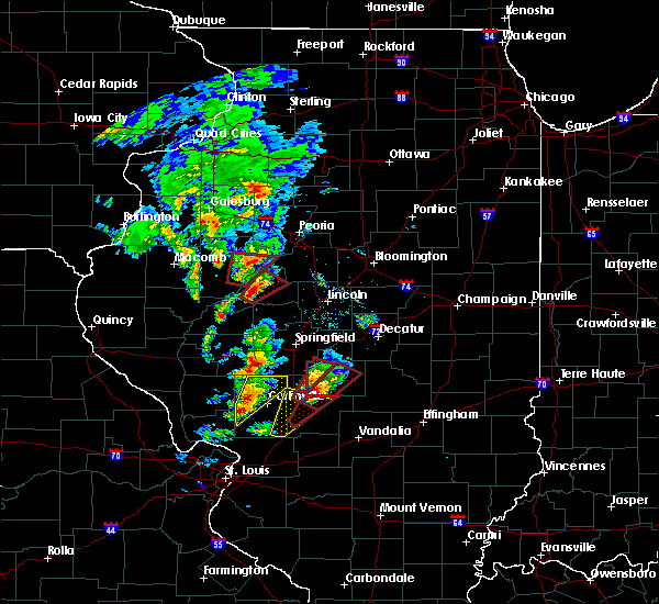 Radar Image for Severe Thunderstorms near Dunfermline, IL at 12/1/2018 4:50 PM CST