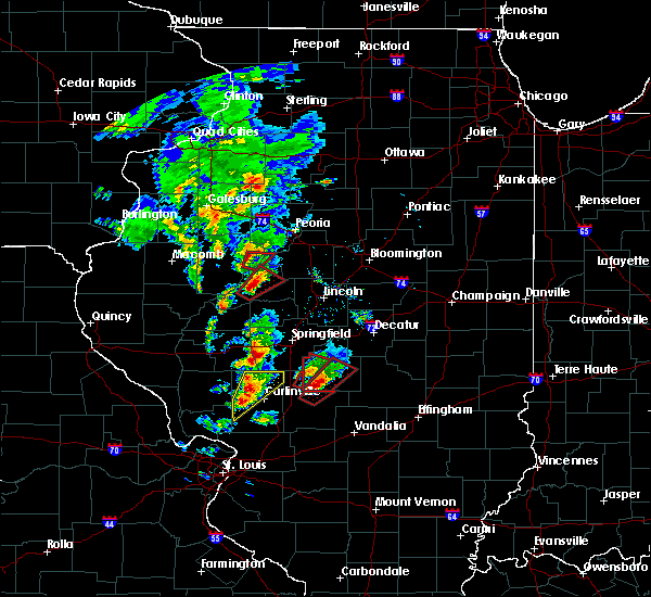 Radar Image for Severe Thunderstorms near Taylorville, IL at 12/1/2018 4:54 PM CST