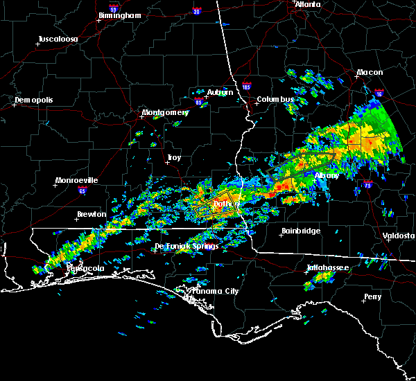 Radar Image for Severe Thunderstorms near Leary, GA at 12/2/2018 12:26 AM EST