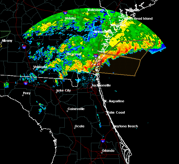 Radar Image for Severe Thunderstorms near Brunswick, GA at 12/2/2018 12:26 AM EST