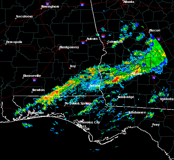 Radar Image for Severe Thunderstorms near Leary, GA at 12/2/2018 1:30 AM EST
