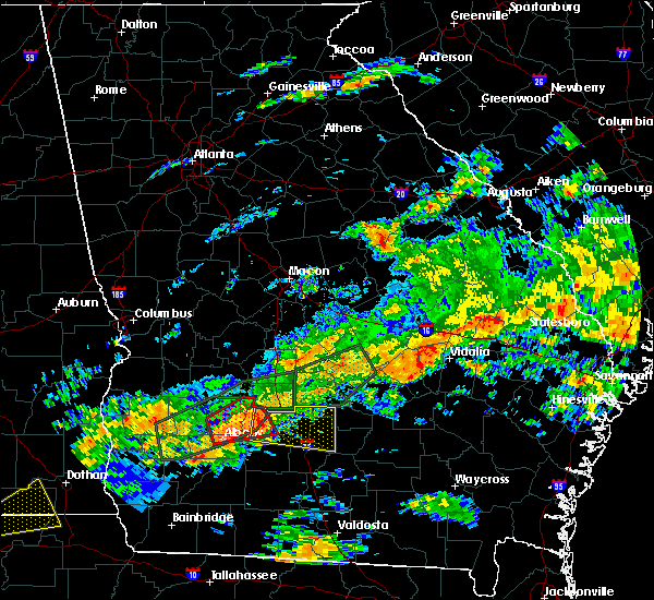 Radar Image for Severe Thunderstorms near Fitzgerald, GA at 12/2/2018 4:55 AM EST