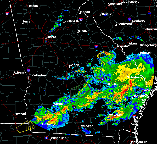 Radar Image for Severe Thunderstorms near Keysville, GA at 12/2/2018 8:09 AM EST