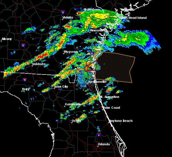 Radar Image for Severe Thunderstorms near Hilliard, FL at 12/2/2018 3:07 PM EST