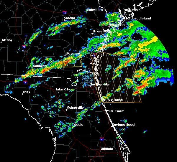 Radar Image for Severe Thunderstorms near Homeland, GA at 12/2/2018 5:43 PM EST