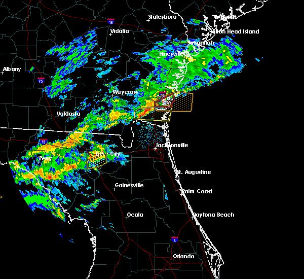 Radar Image for Severe Thunderstorms near Lake City, FL at 12/3/2018 6:43 AM EST
