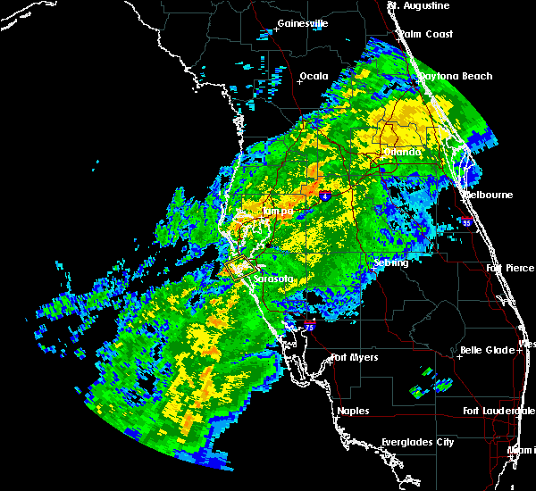 Radar Image for Severe Thunderstorms near Bayshore Gardens, FL at 12/9/2018 10:21 AM EST