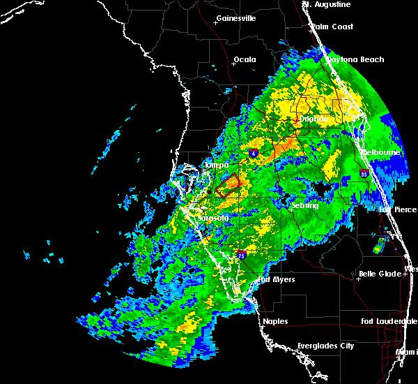 Radar Image for Severe Thunderstorms near Riverview, FL at 12/9/2018 11:36 AM EST