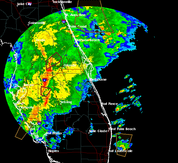 Radar Image for Severe Thunderstorms near Oakland, FL at 12/20/2018 8:40 AM EST