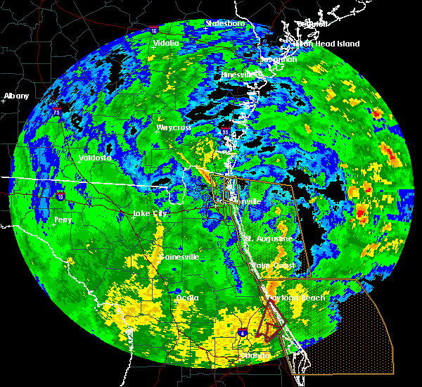 Radar Image for Severe Thunderstorms near Yulee, FL at 12/20/2018 11:11 AM EST
