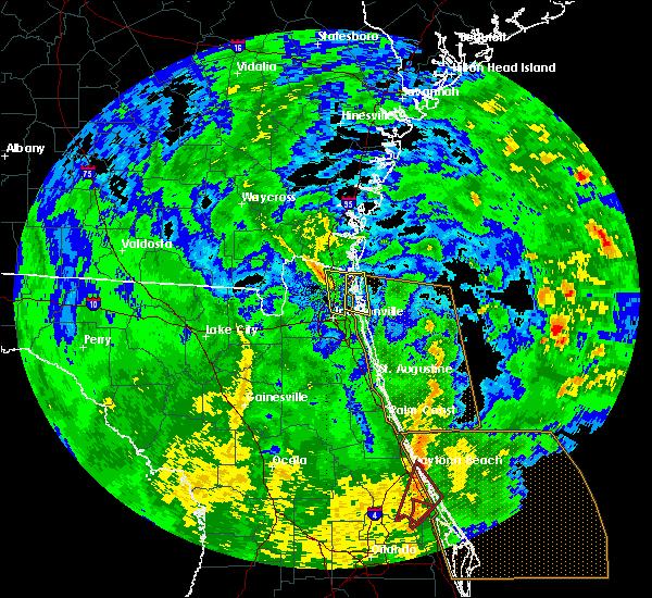 Radar Image for Severe Thunderstorms near Jacksonville, FL at 12/20/2018 11:11 AM EST