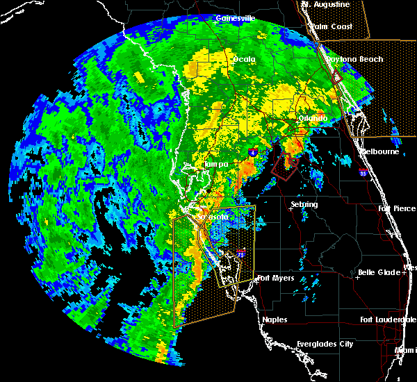 Radar Image for Severe Thunderstorms near Arcadia, FL at 12/20/2018 11:24 AM EST