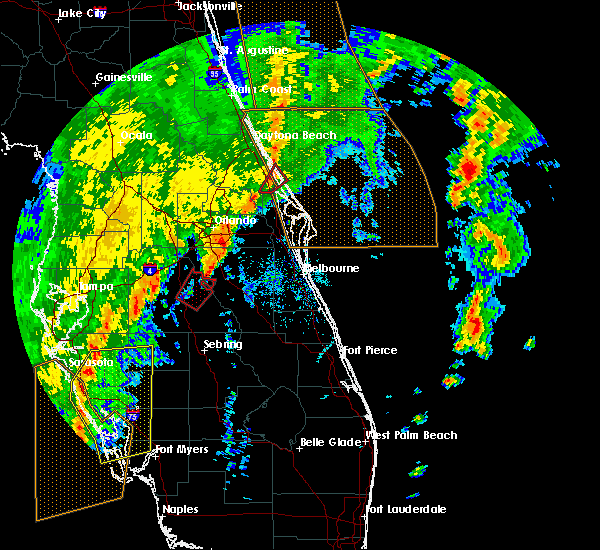 Radar Image for Severe Thunderstorms near Edgewater, FL at 12/20/2018 11:36 AM EST