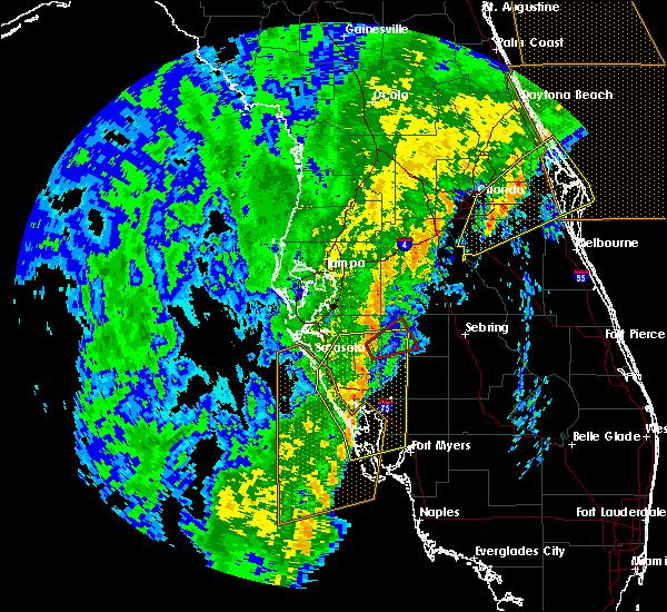 Radar Image for Severe Thunderstorms near Fort Green, FL at 12/20/2018 12:00 PM EST