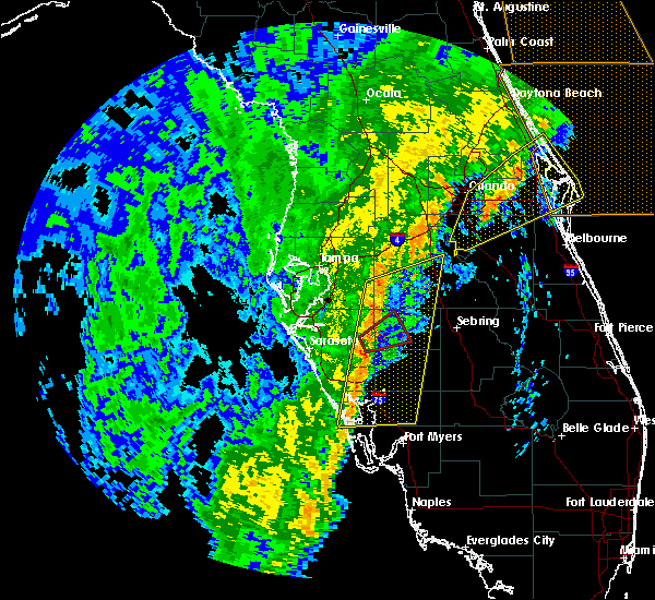 Radar Image for Severe Thunderstorms near Arcadia, FL at 12/20/2018 12:04 PM EST