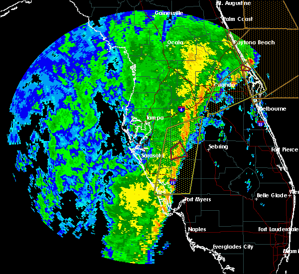 Radar Image for Severe Thunderstorms near Arcadia, FL at 12/20/2018 12:34 PM EST