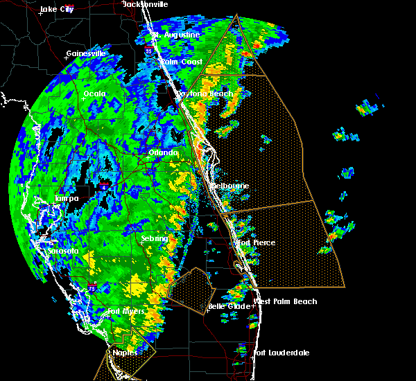 Radar Image for Severe Thunderstorms near Merritt Island, FL at 12/20/2018 2:31 PM EST