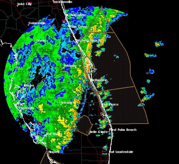 Radar Image for Severe Thunderstorms near Merritt Island, FL at 12/20/2018 2:37 PM EST