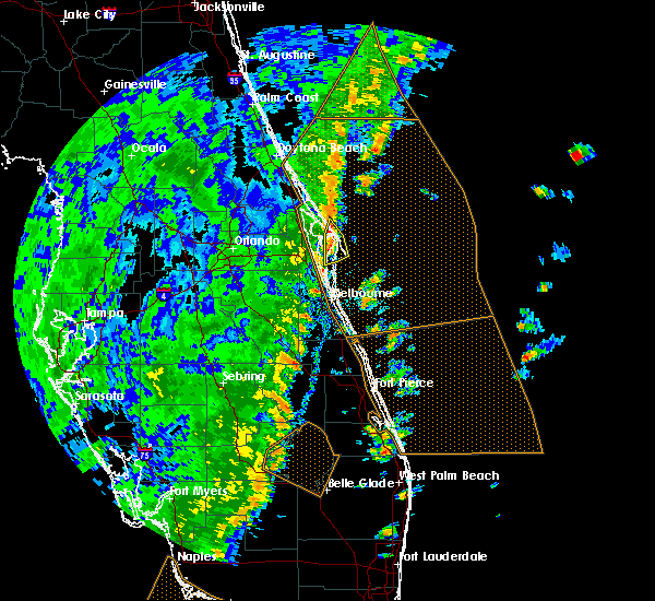 Radar Image for Severe Thunderstorms near Merritt Island, FL at 12/20/2018 2:50 PM EST