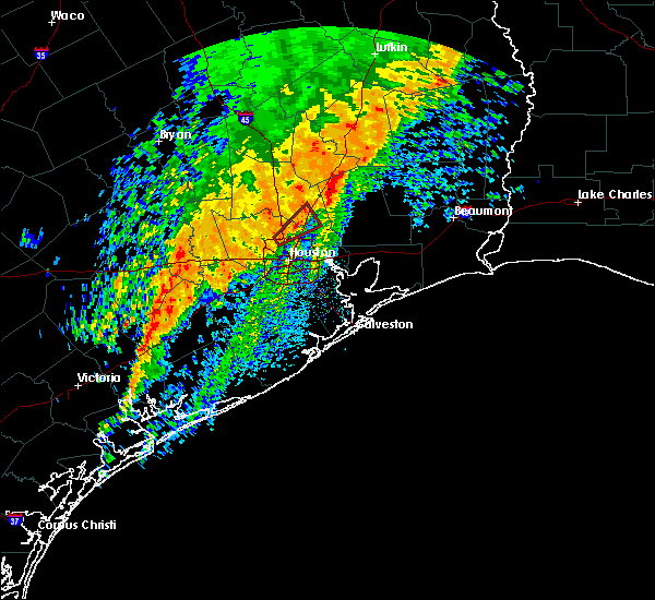Radar Image for Severe Thunderstorms near Humble, TX at 12/27/2018 4:37 AM CST
