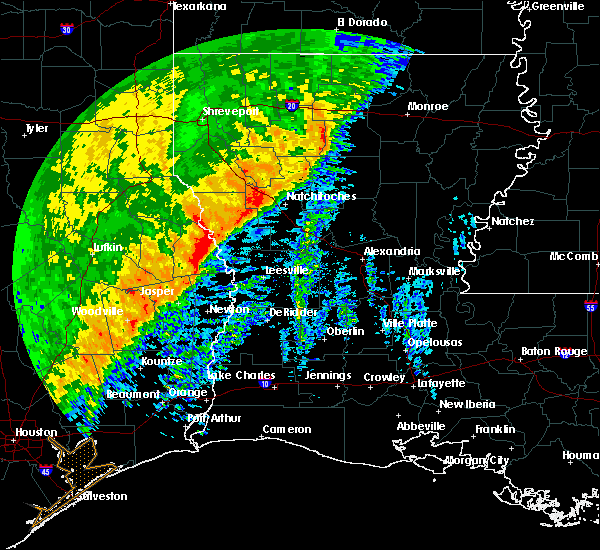 Radar Image for Severe Thunderstorms near Fisher, LA at 12/27/2018 5:25 AM CST