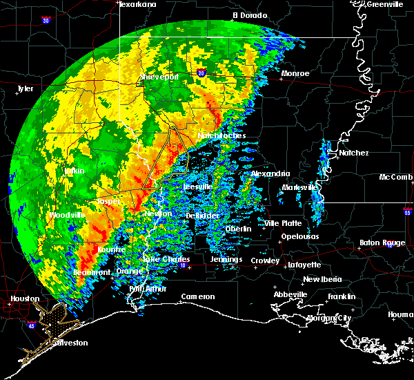 Radar Image for Severe Thunderstorms near Fisher, LA at 12/27/2018 6:07 AM CST