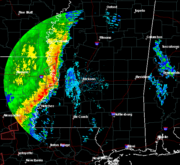 Radar Image for Severe Thunderstorms near Beechwood, MS at 12/27/2018 9:48 AM CST