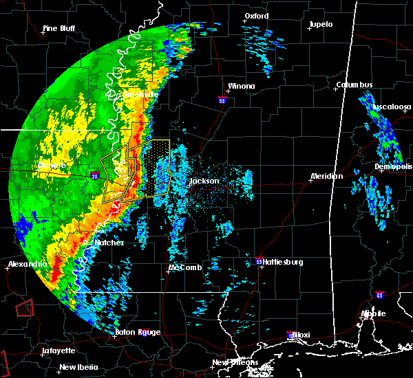 Radar Image for Severe Thunderstorms near Beechwood, MS at 12/27/2018 9:57 AM CST