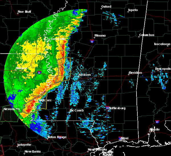 Radar Image for Severe Thunderstorms near Beechwood, MS at 12/27/2018 10:16 AM CST