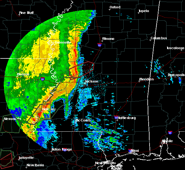 Radar Image for Severe Thunderstorms near Brandon, MS at 12/27/2018 10:37 AM CST