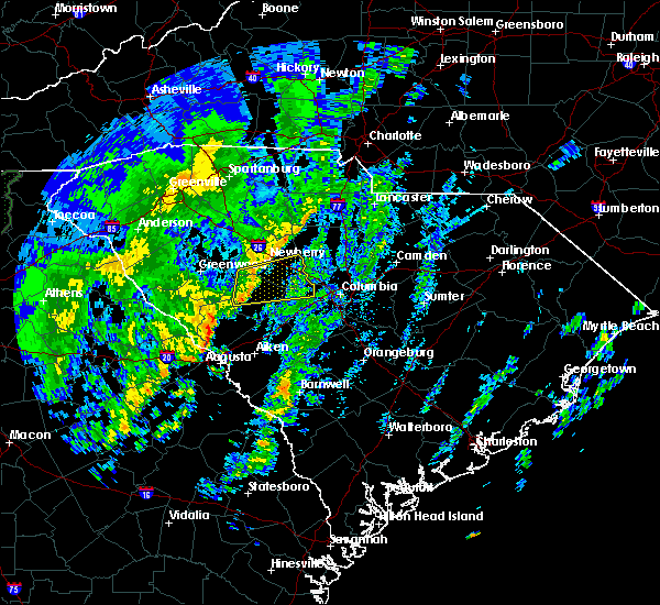 Radar Image for Severe Thunderstorms near Chapin, SC at 12/28/2018 1:08 PM EST