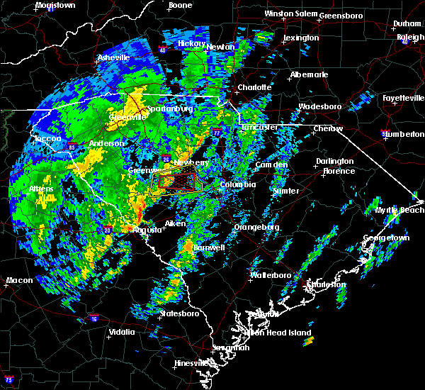Radar Image for Severe Thunderstorms near Chapin, SC at 12/28/2018 1:14 PM EST