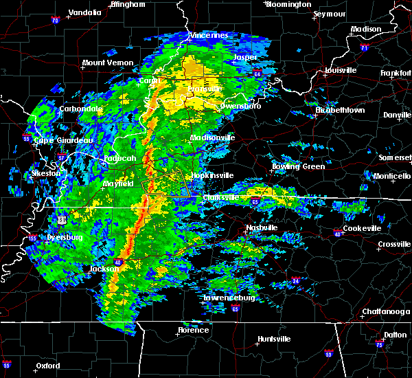 Radar Image for Severe Thunderstorms near Erin, TN at 12/31/2018 12:36 PM CST