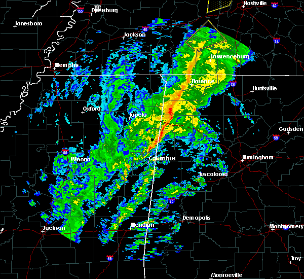 Radar Image for Severe Thunderstorms near Littleville, AL at 12/31/2018 2:01 PM CST