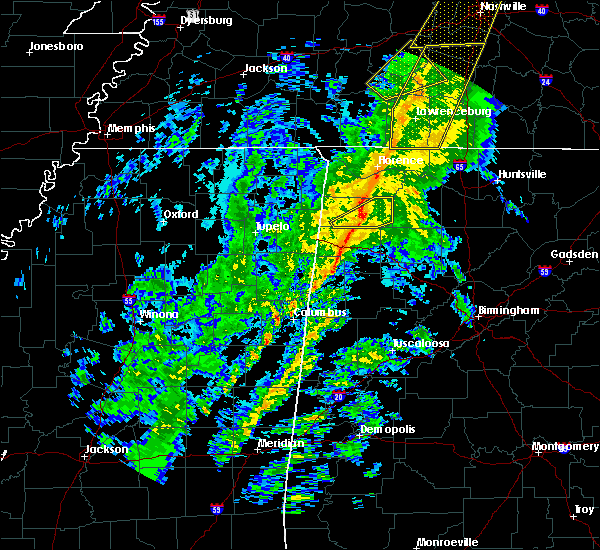 Radar Image for Severe Thunderstorms near Russellville, AL at 12/31/2018 2:13 PM CST