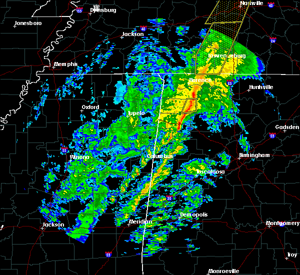 Radar Image for Severe Thunderstorms near Russellville, AL at 12/31/2018 2:29 PM CST