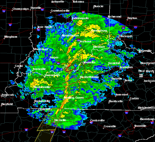 Radar Image for Severe Thunderstorms near Ekron, KY at 12/31/2018 3:28 PM EST